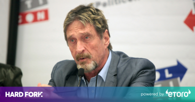 La billetera Bitcoin 'no apuñalable' de John McAfee fue pirateada