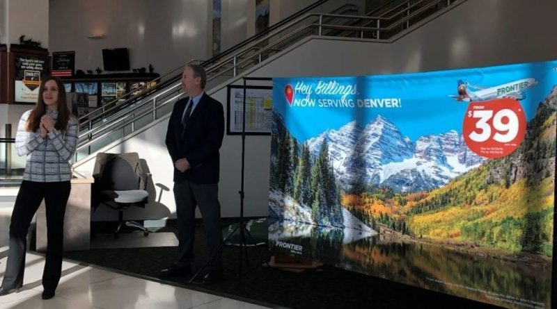 Frontier Airlines anuncia una nueva conexión Billings / Denver – KTVQ Billings News