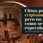 La prohibición de China no afecto tanto el Bitcoin