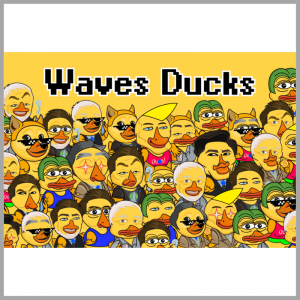 Juego NFT Waves Duck